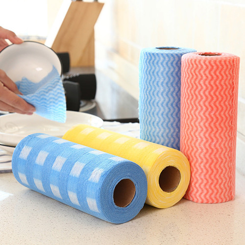 Non woven perforated Wipes Rolls